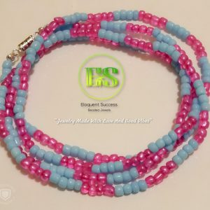 Cotton Candy Waist Bead