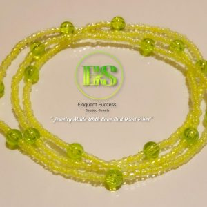 Lime with Me Waist Bead