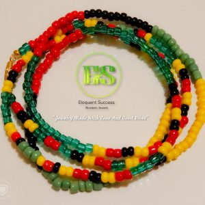 Rastafari Culture Waist Bead