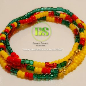 St. Vincent and Grenadines Waist Bead